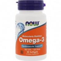 Omega-3 Molecularly Distilled (30капс)