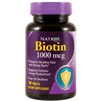 Biotin 1000 мкг (100таб)